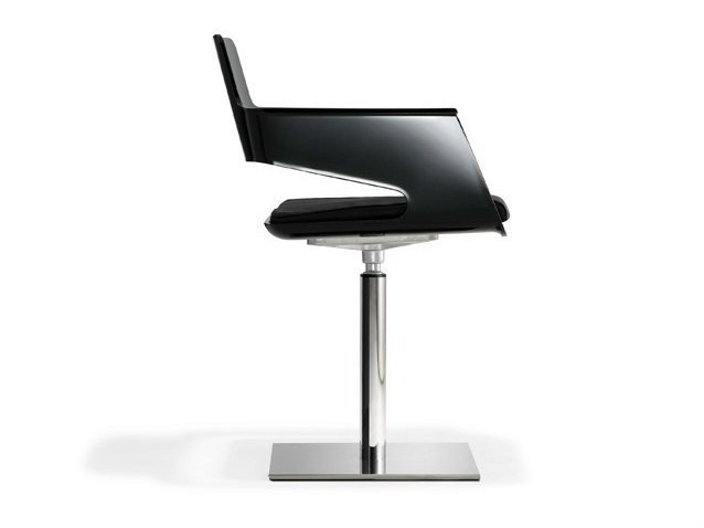 Swivel chair with armrests B32 SWIVEL - AREA DECLIC
