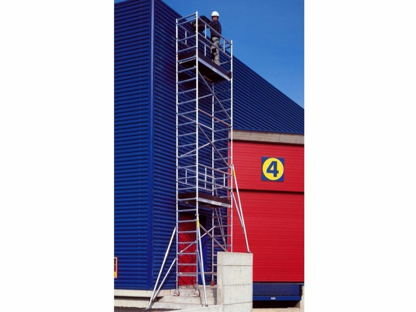 Mobile scaffolding for construction site B74 - Frigerio Carpenterie