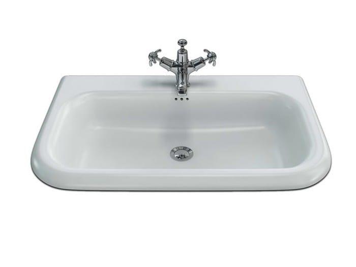 Rectangular wall-mounted washbasin B9E | Wall-mounted washbasin - Polo