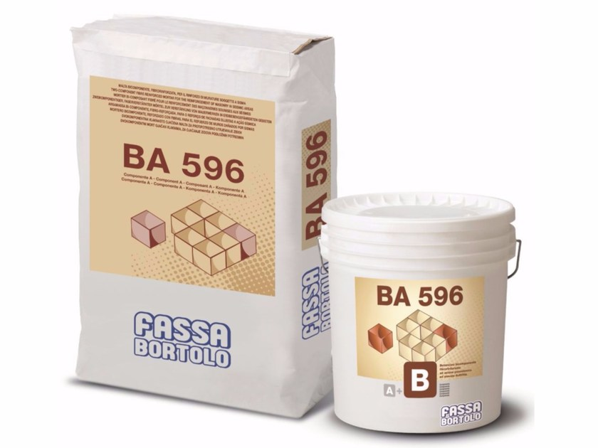 Mortar and grout for renovation BA 596 - FASSA