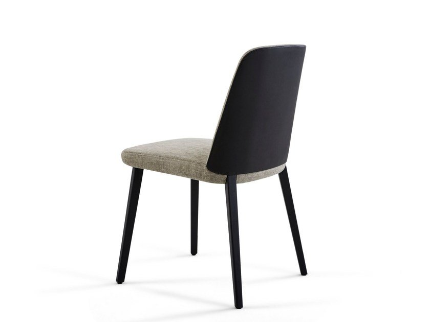 Upholstered chair BACK ME UP by Montis