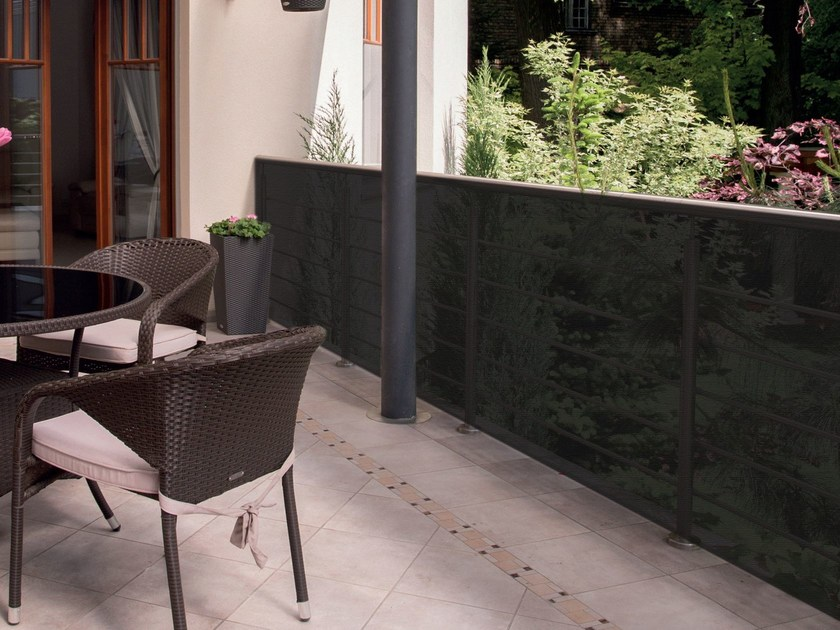 Shade panel BAHIA ANTHRACITE by TENAX