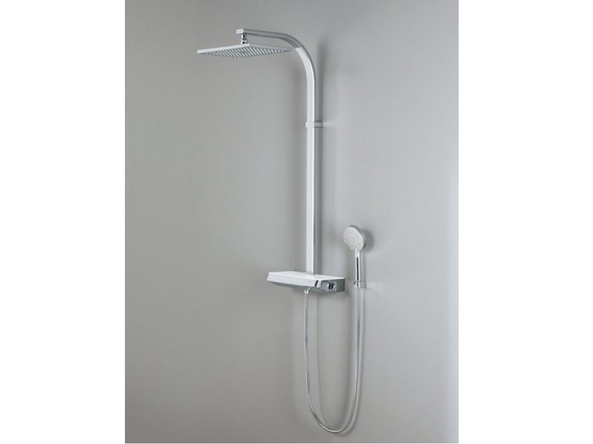 Wall-mounted shower panel with hand shower BALANS - Systempool