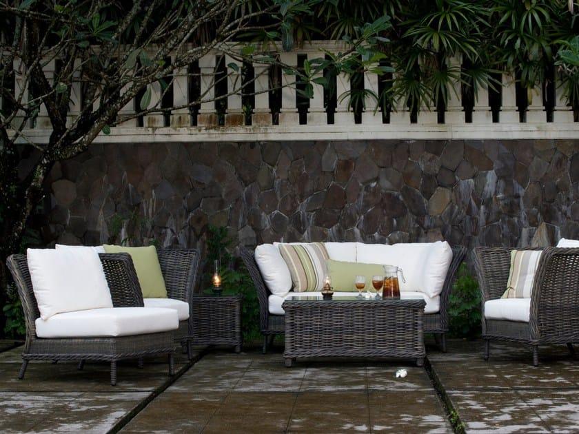 Divano da giardino modulare BALI | Divano modulare - 7OCEANS DESIGNS