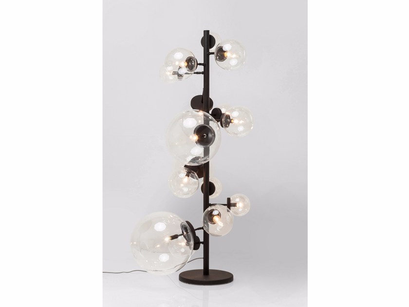 Steel ceiling lamp BALLOON CLEAR - KARE-DESIGN