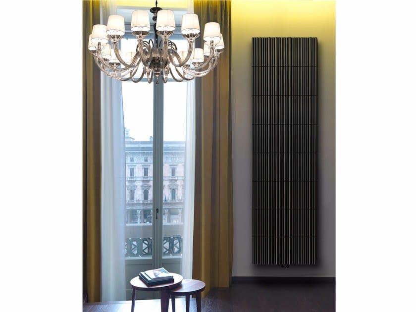 Wall-mounted panel radiator BAMBOO by K8 Radiatori