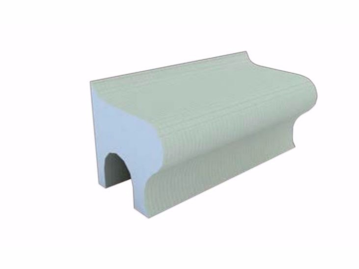 Polystyrene shower Seat BANCOS by Butech