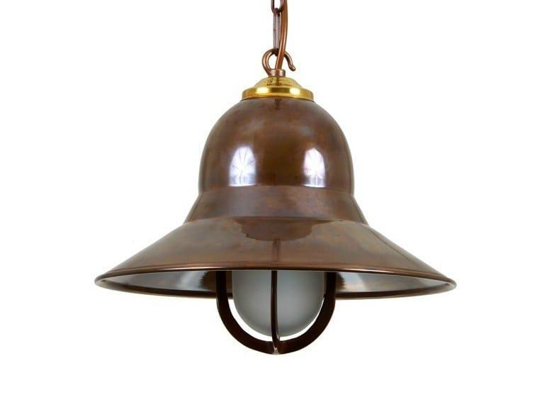 Direct light handmade brass pendant lamp BANDAR PORT NAUTICAL PENDANT LIGHT | Brass pendant lamp - Mullan Lighting