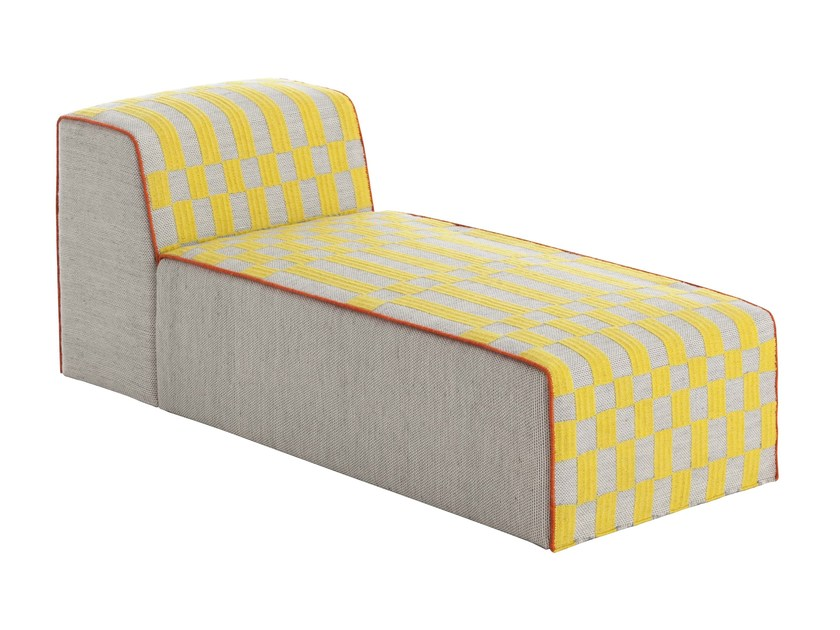 Upholstered fabric lounge chair BANDAS B | Lounge chair - GAN By Gandia Blasco