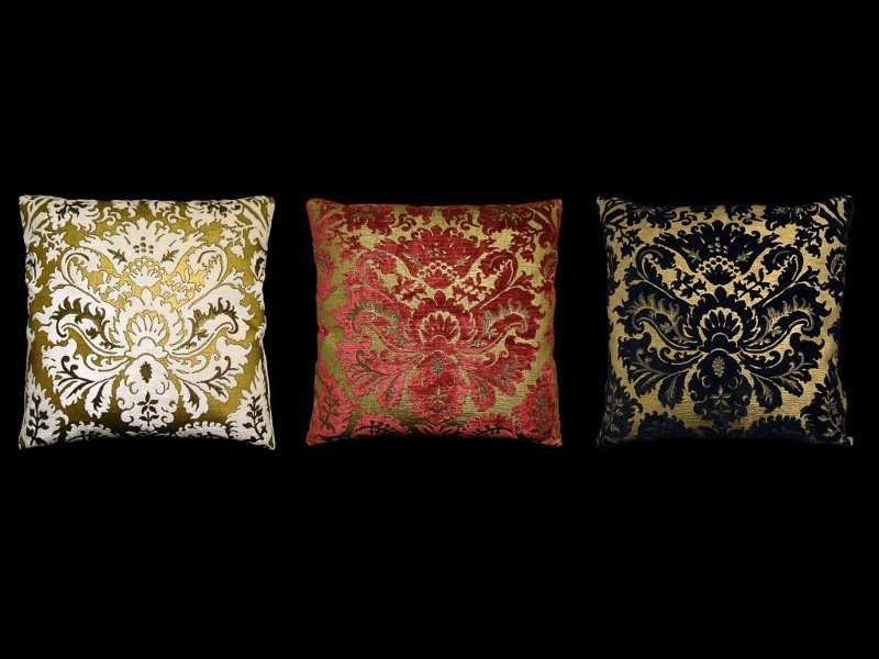 Square velvet cushion BARBARIGO | Square cushion - Venetia Studium