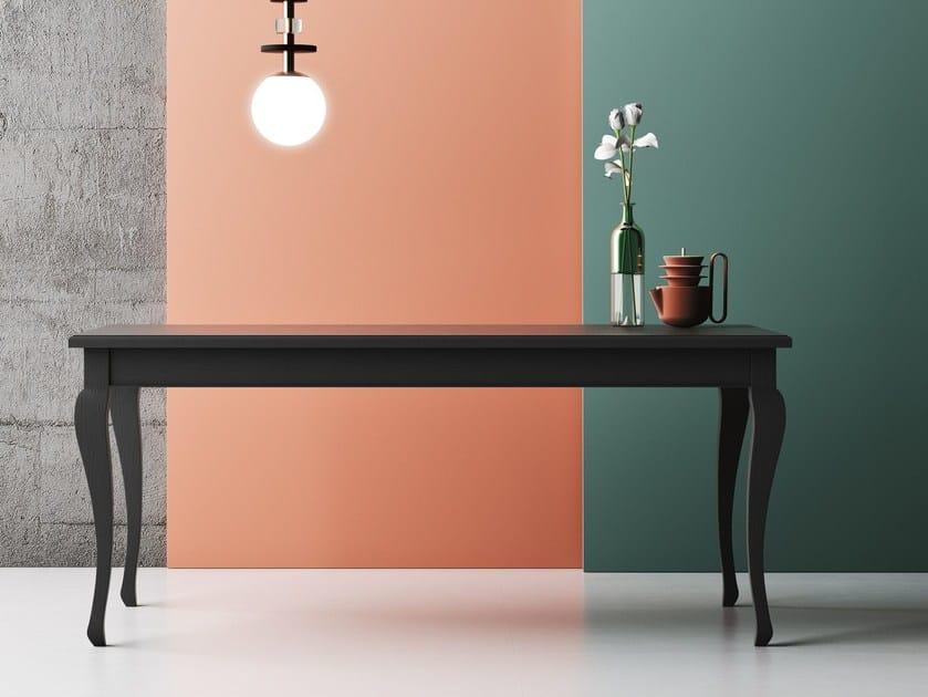 Extending rectangular oak dining table BARBOUN - Imperial Line
