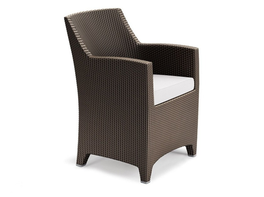 Garden armchair with armrests BARCELONA | Garden armchair by Dedon