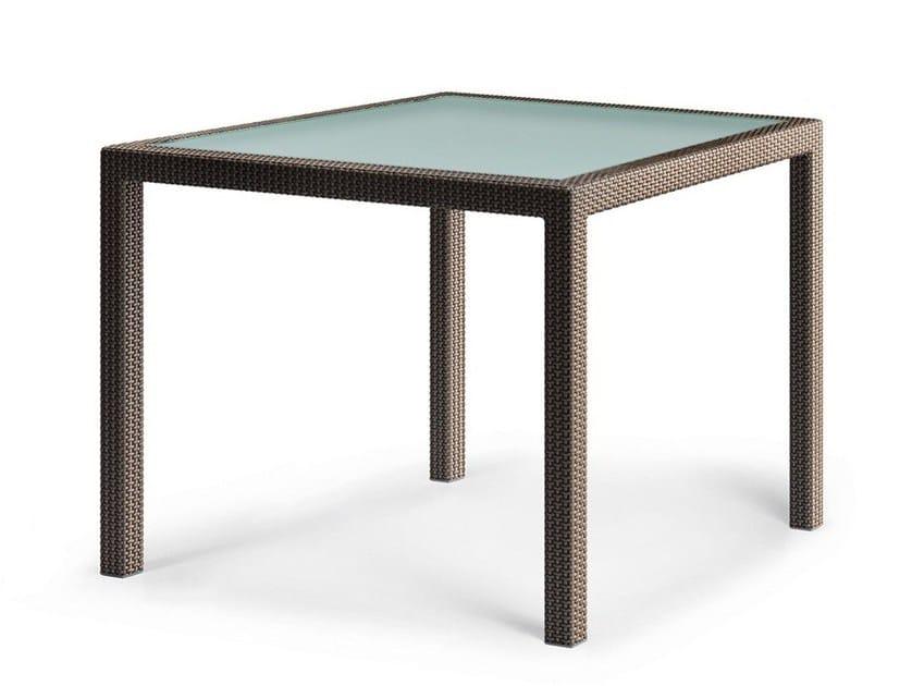 Square garden table BARCELONA | Table by Dedon