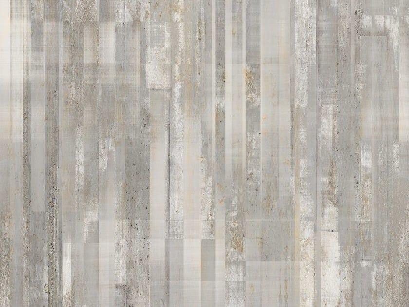 Carta da parati effetto cemento barcode tecnografica for Carta da parati effetto murales