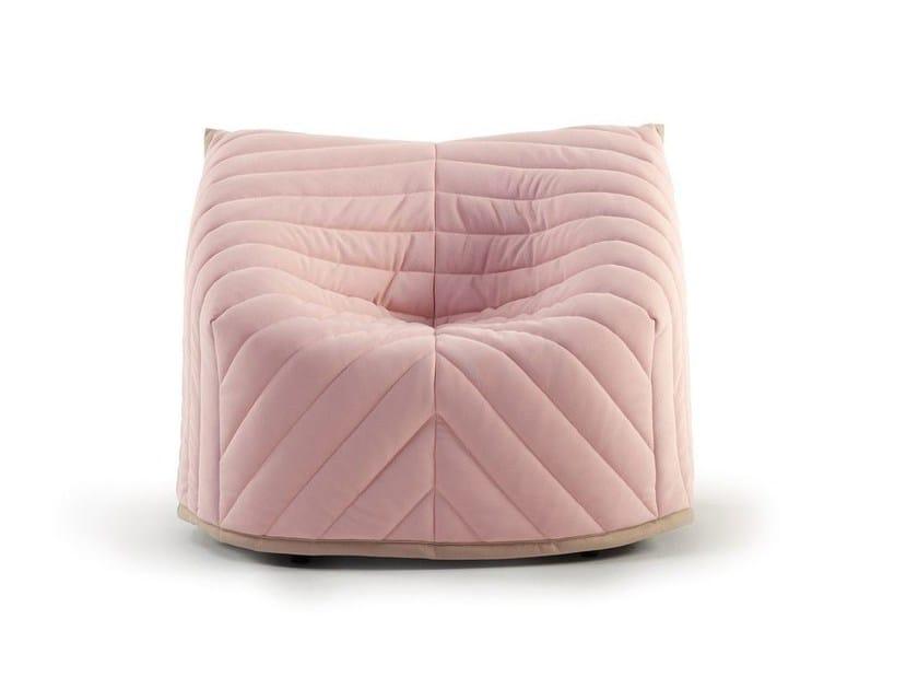 Fabric armchair BARNABY | Armchair - SANCAL
