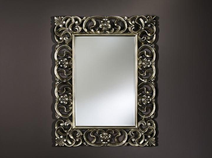 Specchio rettangolare con cornice baroque by deknudt mirrors - Lo specchio retrovisore centrale ...