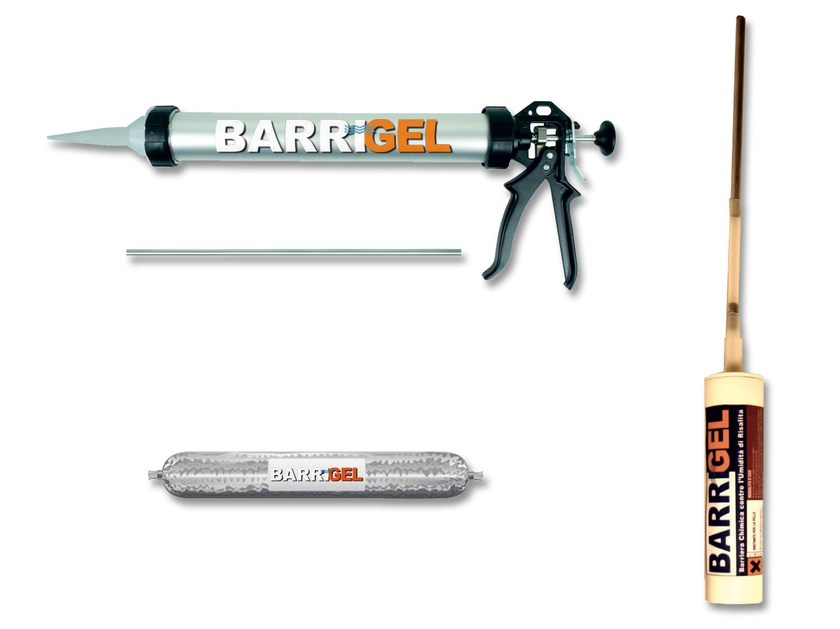 Chemical barrier anti-humidity systems BARRIGEL - S. PAOLO