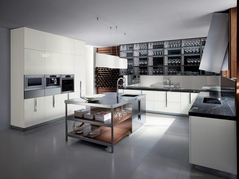 Kitchen BARRIQUE   Glass kitchen - ERNESTOMEDA