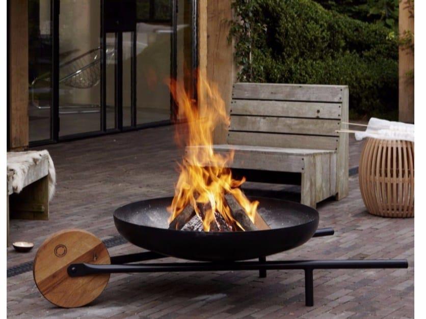 Powder coated steel barbecue / fire baskets BARROW by KONSTANTIN SLAWINSKI