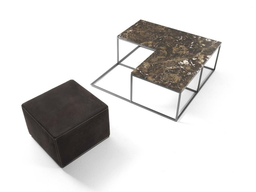 Marble coffee table BARRY by Frigerio Salotti