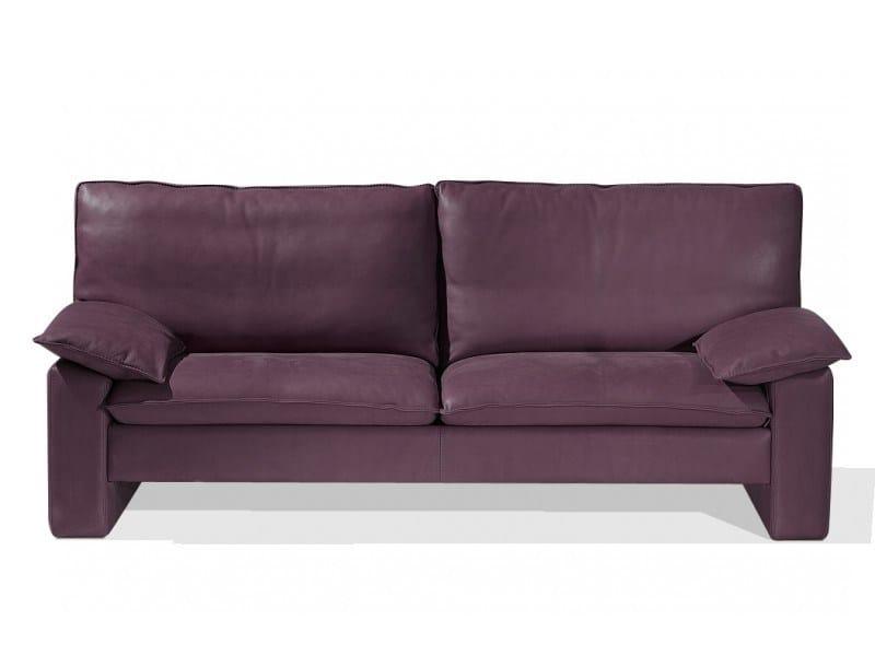 3 seater leather sofa BARTHOLDI - Canapés Duvivier
