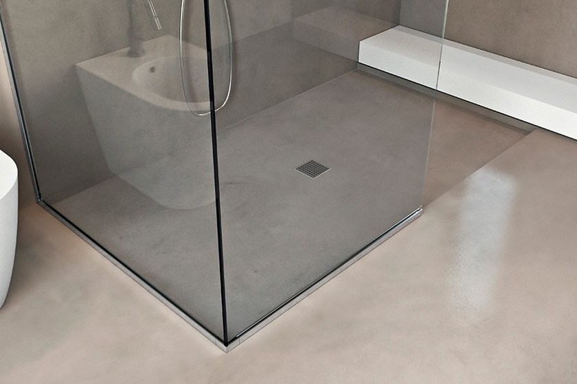 Piatto doccia filo pavimento basic shower makro - Doccia a filo pavimento ...