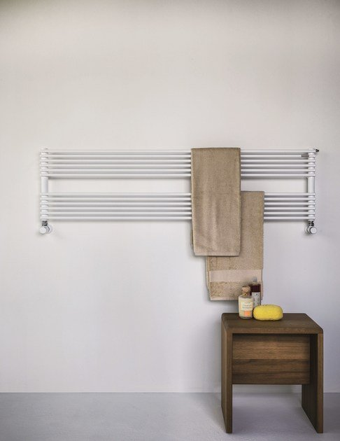 Wall-mounted towel warmer BASICS 14 | Towel warmer - Tubes Radiatori