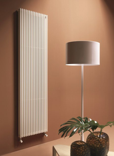 Vertical wall-mounted decorative radiator BASICS 25 | Vertical decorative radiator - Tubes Radiatori