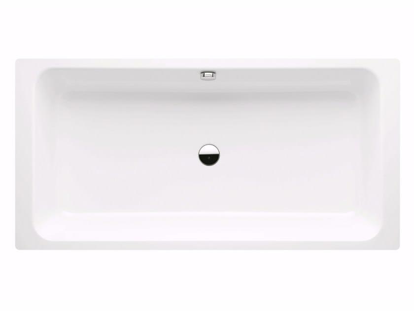 Vasca da bagno in acciaio smaltato bassino by kaldewei - Vasca da bagno acciaio prezzi ...