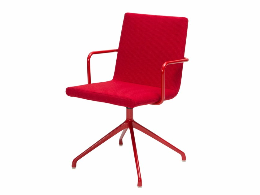 Trestle-based chair BASSO S | Chair with armrests - Inno Interior Oy