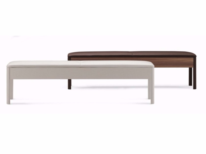 Leather bench BATÒ | Bench - Flou