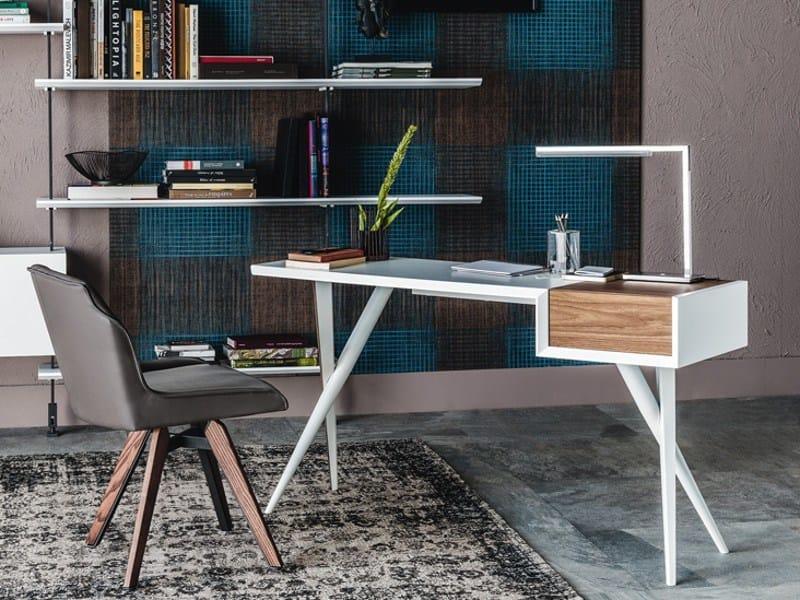 Wooden secretary desk BATIK - Cattelan Italia