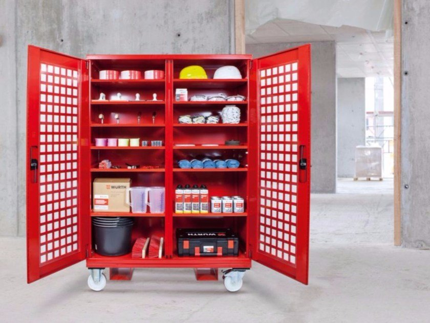 Heavy duty storage cabinet BAULOC SERVICE - Würth