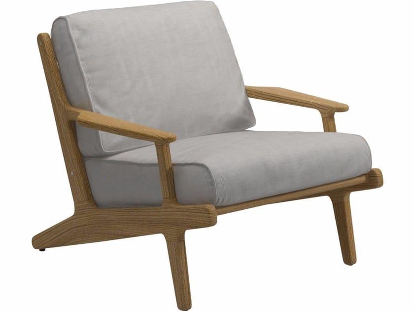 Fabric garden armchair BAY   Garden armchair - Gloster
