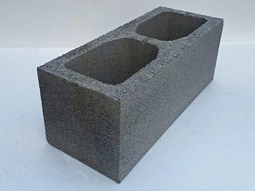 blocco in cls alleggerito per muratura esterna bc20. Black Bedroom Furniture Sets. Home Design Ideas