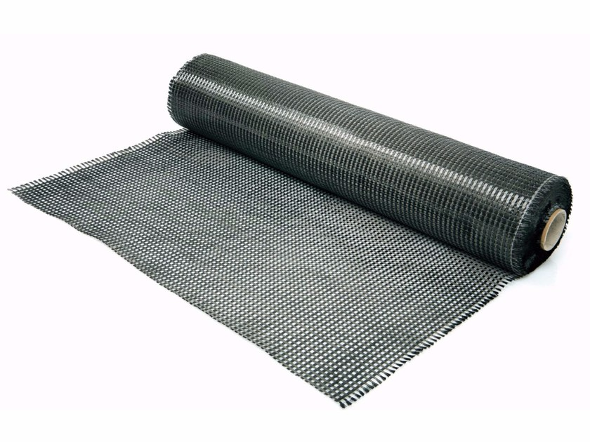 Carbon fibre reinforcing fabric BCF 605 CARBOTEX QUAD 380 - FASSA