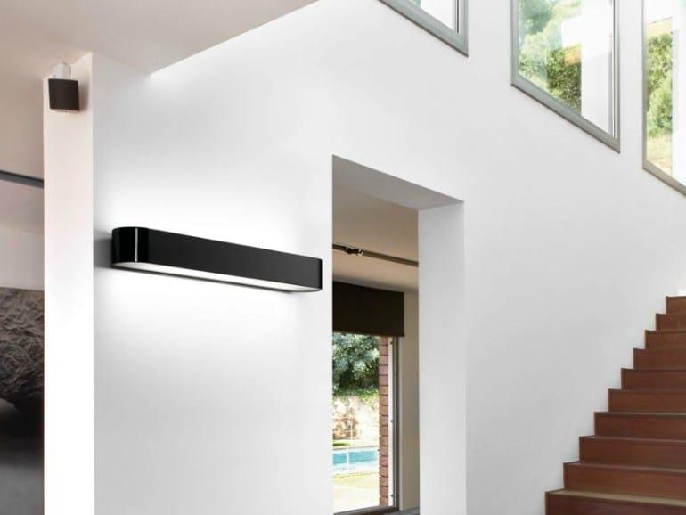 Fluorescent polyurethane wall lamp BCN - BOVER Il. Luminació & Mobiliario