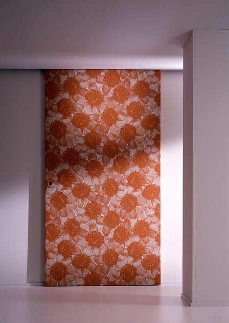 Porta laccata scorrevole senza telaio bd16 sb laurameroni - Telaio porta scorrevole ...