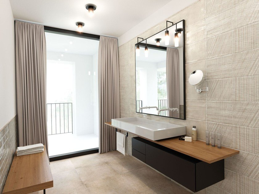 Double-fired ceramic wall tiles BE UNIQUE by Herberia
