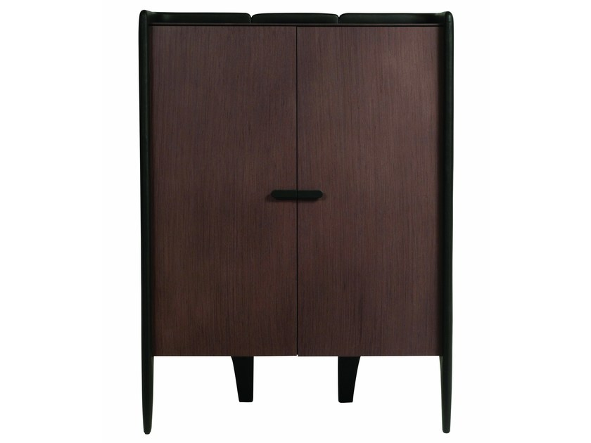 MDF highboard with doors BEATA by ROCHE BOBOIS