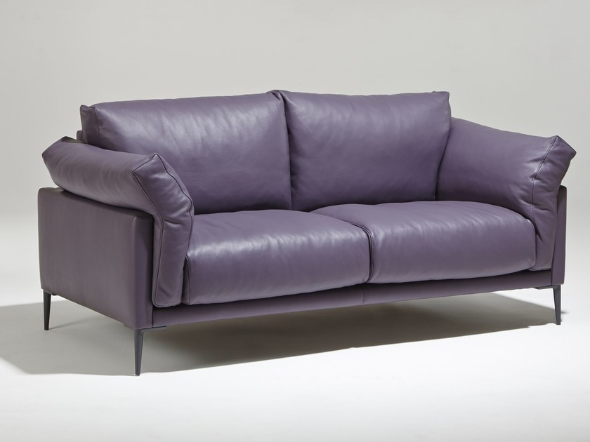 2 seater leather sofa BEAUBOURG | 2 seater sofa - Burov