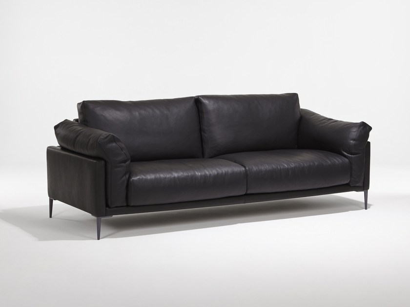 3 seater leather sofa BEAUBOURG | 3 seater sofa - Burov