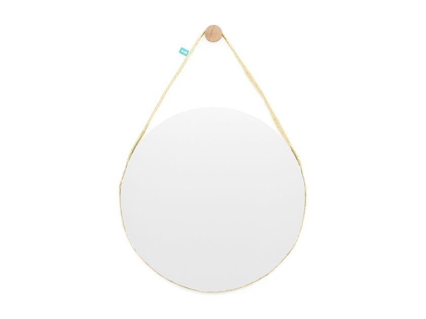 Round wall-mounted mirror BELA Big - DAM