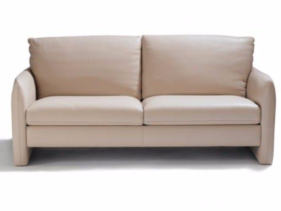3 seater leather sofa BELHARRA - Canapés Duvivier