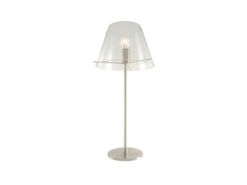 Glass table lamp with fixed arm BELL T | Table lamp - Aromas del Campo