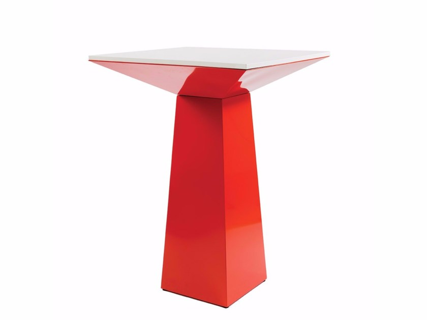 Stainless steel contract table BELLAGIO by Vela Arredamenti