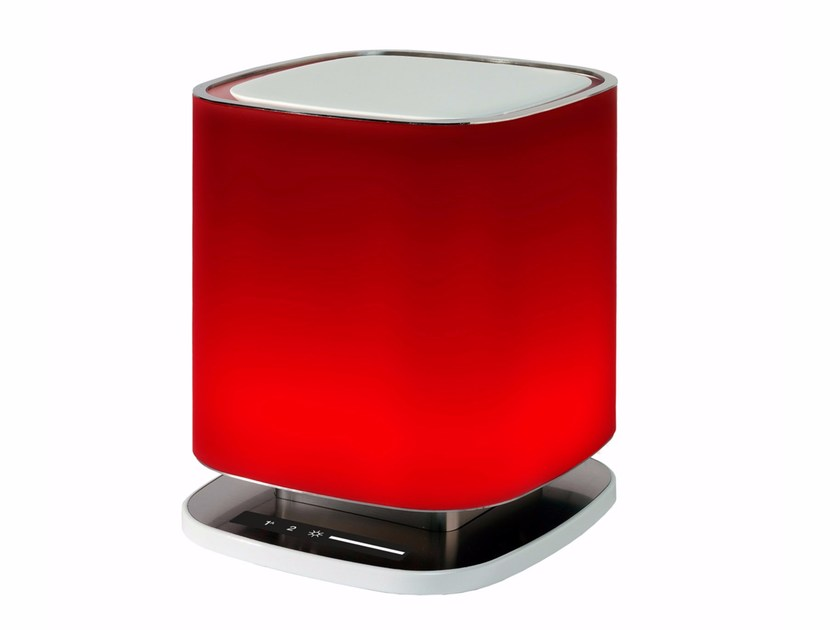 Lampada da tavolo / purificatore d'aria in vetro BELLARIA by Falmec