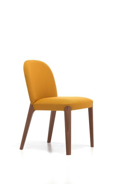 Contemporary style upholstered wooden restaurant chair BELLEVUE 61 | Chair - Very Wood