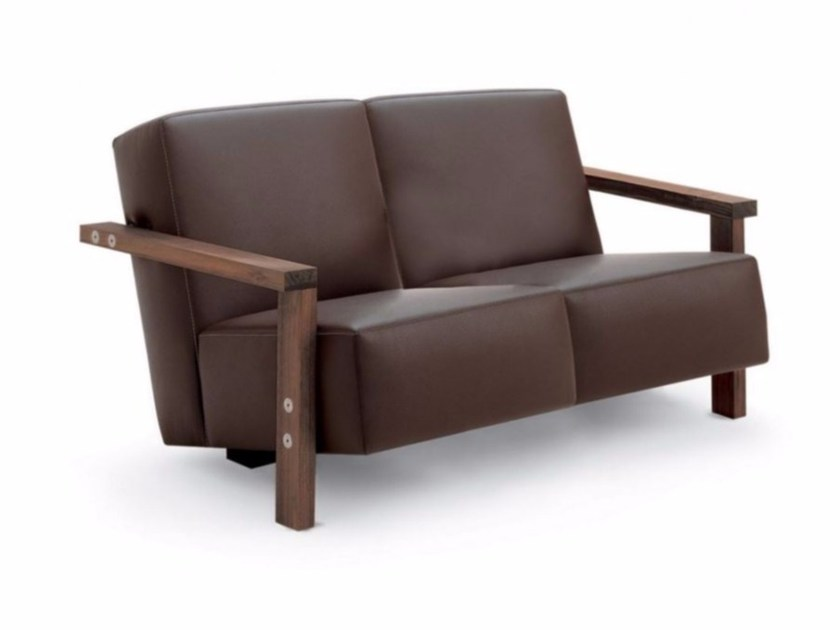 Leather sofa BERBENA | Sofa - Riva 1920