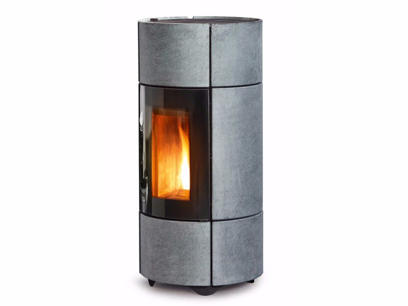 Pellet Central natural stone stove BERG - MCZ GROUP